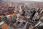 One World Trade Center Site & Lower Manhattan Aerials