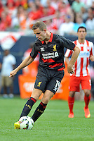 Chicago, IL. - Sunday  July, 27 2014: Liverpool defeated Olympiacos 1-0 in the Guinness International Champions Cup game played at Soldier Field.