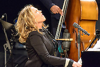 Diana Krall  im Kraftwerk Autostadt Wolfsburg am 31.May 2014. Foto: Rüdiger Knuth