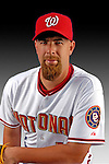 25 February 2007: Washington Nationals pitcher Tim Redding poses for his Photo Day portrait at Space Coast Stadium in Viera, Florida.<br /> <br /> Mandatory Photo Credit: Ed Wolfstein Photo<br /> <br /> Note: This image is available in a RAW (NEF) File Format - contact Photographer.