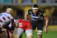 Francois Louw of Bath Rugby looks on. Aviva Premiership match, between Bath Rugby and Gloucester Rugby on February 5, 2016 at the Recreation Ground in Bath, England. Photo by: Patrick Khachfe / Onside Images