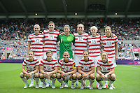 2012 Olympics USA Women vs New Zealand