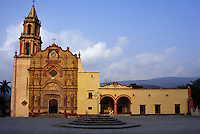Mision Jalpan, Jalpan, Queretaro, Mexico. Jalpan is one of five Franciscan missions established in the Sierra Gorda by Fray Junipero Serra between 1751 and 1768.