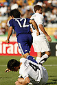 Fumiya Hayakawa (JPN), Reece Lambert (NZL), JUNE 29, 2011 - Football : Fumiya Hayakawa of Japan celebrates his goal during the 2011 FIFA U-17 World Cup Mexico Round of 16 match between Japan 6-0 New Zealand at Estadio Universitario in Monterrey, Mexico. (Photo by MEXSPORT/AFLO)