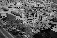 the Destruction of the old newspaper building mid 1970's