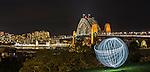 Lightpainting at Observatory Hill, Sydney, NSW, Australia