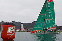 CHINA, Sanya. 4th February 2012. Volvo Ocean Race. Leg 3 Arrivals.