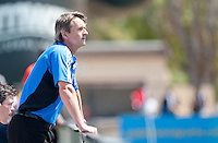 San Jose Earthquakes Head Coach Frank Yallop. The San Jose Earthquakes defeated the LA Galaxy 1-0 at Buck Shaw Stadium in Santa Clara, California on August 21st, 2010.