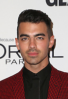 LOS ANGELES, CA - NOVEMBER 14: Joe Jonas at  Glamour's Women Of The Year 2016 at NeueHouse Hollywood on November 14, 2016 in Los Angeles, California. Credit: Faye Sadou/MediaPunch
