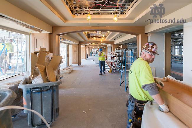 November 21, 2016; Corbett Family Hall 8th floor (Photo by Matt Cashore/University of Notre Dame)