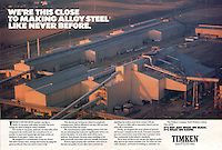 Timken Steel, Steel Mill Aerial