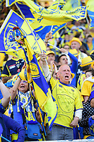 Clermont fans during the European Champions Cup semi final match between AS Clermont and Leinster on April 23, 2017 in Clermont-Ferrand, France. (Photo by Dave Winter/Icon Sport)