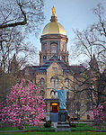 11x14 Dome Spring Scenic.jpg by Matt Cashore/University of Notre