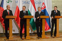 V4 PM meeting - Ukraine 2014