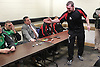 Tyson Fury - Martin Rogan post figt press conf - belfast - 14-04-12