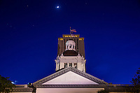 TALLAHASSEE, FLA. 4/11/16-The Historic Florida Capitol at dusk. <br /><br /><br />COLIN HACKLEY PHOTO