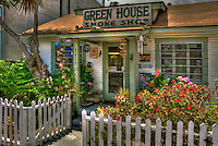 Green House, Smoke Shop, Abbot Kinney, Venice, CA, cool pipes, cigars, bubblers, California