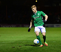 Lincoln City's Elliott Whitehouse<br /> <br /> Photographer Andrew Vaughan/CameraSport<br /> <br /> The Buildbase FA Trophy Semi-Final First Leg - York City v Lincoln City - Tuesday 14th March 2017 - Bootham Crescent - York<br />  <br /> World Copyright &copy; 2017 CameraSport. All rights reserved. 43 Linden Ave. Countesthorpe. Leicester. England. LE8 5PG - Tel: +44 (0) 116 277 4147 - admin@camerasport.com - www.camerasport.com