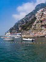 Positano at Amalfi Coast, Campania, Italy, Europe,World Heritage Site