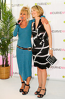 Betsey Johnson, and Carole Hochman at the CURVE and CFDA Party For A Cause event during the CURVENY Lingerie & Swim show, at the Jacob Javits Convention Center, August 2, 2010.
