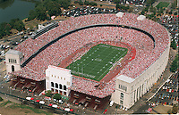 Aerial of Ohio Stadium Saturday September 12, 1998 during the OSU football game with University of Toledo. (Columbus Dispatch photo by Craig Holman)