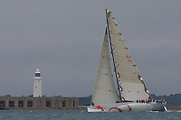 ENGLAND, Cowes, Cowes Week, 4th August 2009, Class Zero, Beau Geste.
