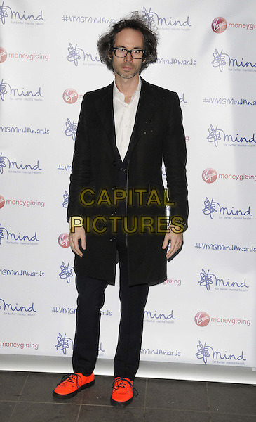 LONDON, ENGLAND - NOVEMBER 18: James Rhodes  attend the Mind Media Awards 2013, BFI Southbank on November 18, 2013 in London, England, UK.<br /> CAP/CAN<br /> &copy;Can Nguyen/Capital Pictures