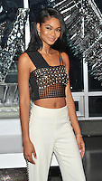 New York,NY-Aug 17: Chanel Iman attends the W Hotel party to celebrate the opening of W Dubai on August 17, 2016 in New York City. @John Palmer / Media Punch