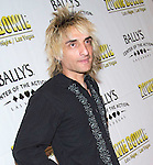 JULY 25 2013: Opening night 'Zowie Bowie Late Night' show at Bally's Las Vegas Rod Stewart impersonator Vic Vaga
