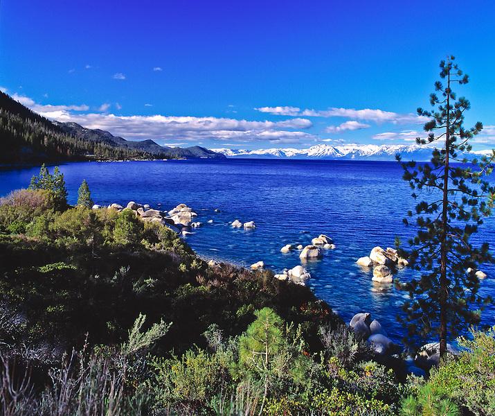 Lake Tahoe Scenic Hidden Beach