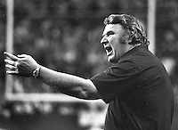 Raider coach John Madden (1978 photo/Ron Riesterer)