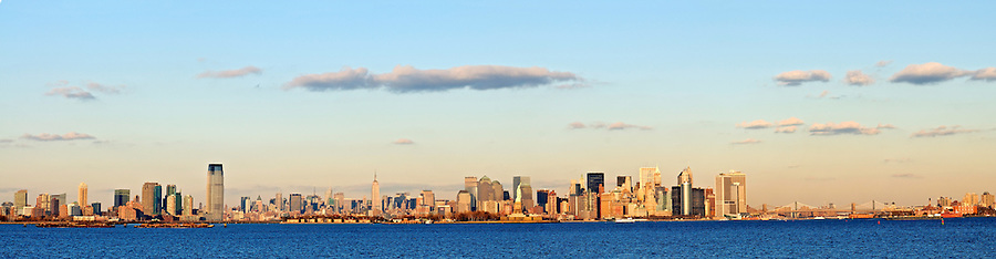 New York City Skyline, New York and New Jersey Skyline