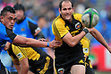 Fourie du Preez (Sungoliath),.FEBRUARY 26, 2012 - Rugby : Japan Rugby Top League 2011-2012,Play Off Tournament Final .match between Suntory Sungoliath 47-28 Panasonic Wild Knights at Chichibunomiya Rugby Stadium, Tokyo, Japan. (Photo by Jun Tsukida/AFLO SPORT) [0003] .