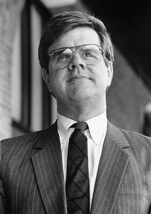 Challenger to Representative McCrery Foster Campbell (D-La.). July 23, 1990 (Photo by Maureen Keating/CQ Roll Call)