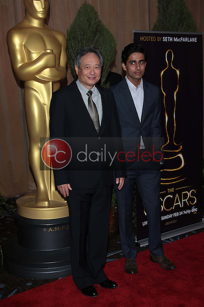 Ang Lee and Suraj Sharma<br />