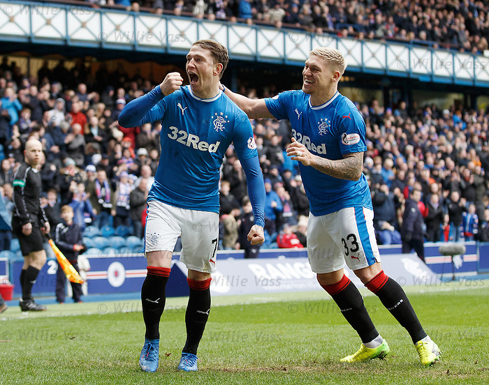 Joe Garner and Martyn Waghorn