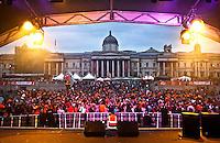 16.04.2011 - Dutch Queen's Birthday in Trafalgar Square