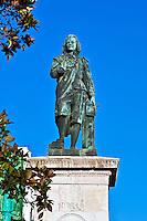 Murillo monument next to the Prado, Madrid, Spain