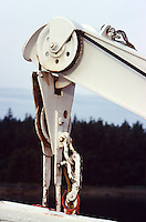 CRANES AND PULLEYS<br /> Cable Running Through Two Pulleys