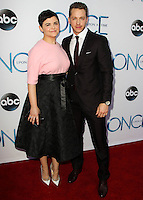 HOLLYWOOD, LOS ANGELES, CA, USA - SEPTEMBER 21: Ginnifer Goodwin, Josh Dallas arrive at the Los Angeles Screening Of ABC's 'Once Upon A Time' Season 4 held at the El Capitan Theatre on September 21, 2014 in Hollywood, Los Angeles, California, United States. (Photo by Celebrity Monitor)