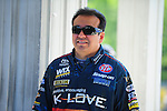 May 6, 2012; Commerce, GA, USA: NHRA funny car driver Tony Pedregon during the Southern Nationals at Atlanta Dragway. Mandatory Credit: Mark J. Rebilas-
