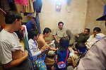 Backroom Card Game At Phsar Nath Market