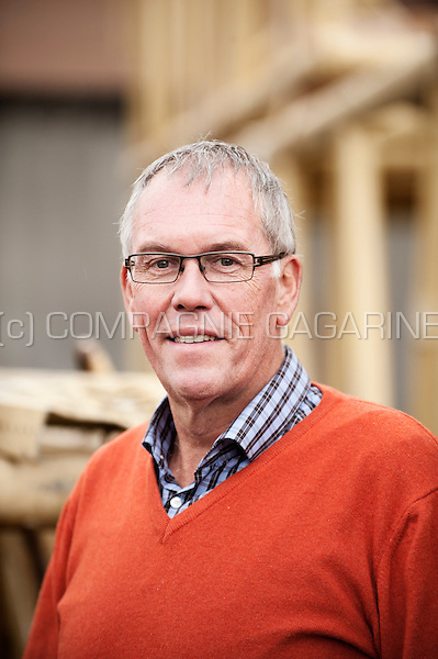 Christian Dufour from the Groupe Dufour construction company (Belgium, 22/10/2014)
