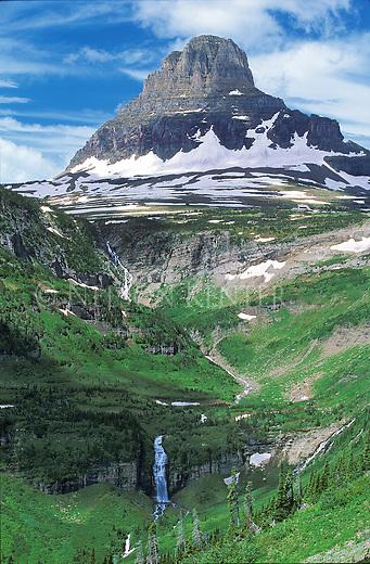 Clements Peak on Logan Pass in Glacier National Park