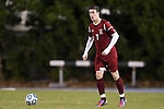 25 November 2012: FDU's Antony Moore (IMN). The University of North Carolina Tar Heels played the Farleigh Dickinson Knights at Fetzer Field in Chapel Hill, North Carolina in a 2012 NCAA Division I Men's Soccer Tournament third round game. UNC won the game 1-0 in overtime.