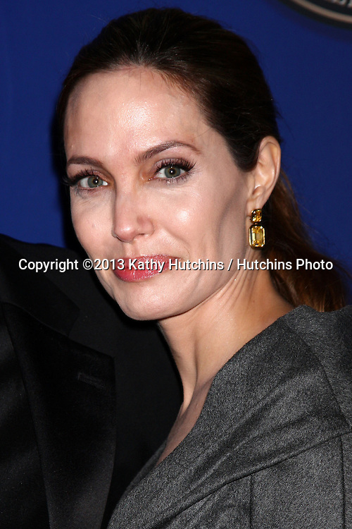 LOS ANGELES - FEB 10: Angelina Jolie at the 2013 American Society of