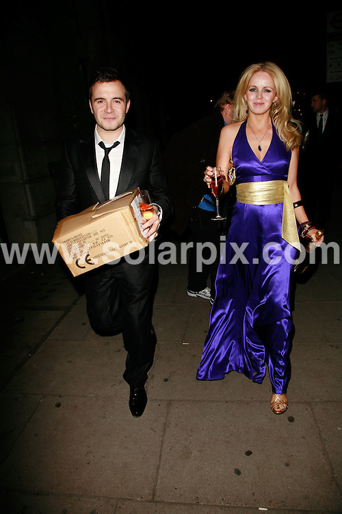 **ALL ROUND PICTURES FROM SOLARPIX.COM**.*WORLDWIDE RIGHTS*.Westlife and partners leaves The Pink Ice Ball for Cancer Research UK on 5th October, 2007 at the Waldorf Hilton, London, England..JOB REF: 4941    GMT   DATE:  05.10.07.**MUST CREDIT SOLARPIX.COM OR DOUBLE FEE WILL BE CHARGED* *UNDER NO CIRCUMSTANCES IS THIS IMAGE TO BE REPRODUCED FOR ANY ONLINE EDITION WITHOUT PRIOR PERMISSION*