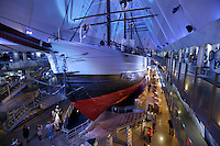 The Fram Museum (Norwegian: Frammuseet) is a museum telling the story of Norwegian polar exploration. It is located on the peninsula of Bygdøy in Oslo, Norway. It honours Norwegian polar exploration in general and three great Norwegian polar explorers in particular?Fridtjof Nansen, Otto Sverdrup and Roald Amundsen. The museum also exhibits images of the fauna of the polar regions, such as polar bears and penguins..The Fram Museum is centered principally on the original exploration vessel Fram.