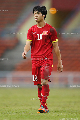Nguyen Cong Phuong (VIE), MARCH 29, 2015 - Football / Soccer : AFC U-23 Championship 2016 Qualification Group I match between U-22 Japan 2-0 U-22 Vietnam at Shah Alam Stadium in Shah Alam, Malaysia. (Photo by Sho Tamura/AFLO SPORT)