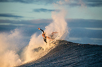 Namotu Island Resort, Fiji. Friday March 27 2015) Zack Haynes (AUS). - The surf was in the 4'-6' range this morning with  clear skies and light SE Trade winds. The  guests had sessions at Namotu Lefts, and Cloudbreak. Today's surf is the best it's been all week with the inside section of Cloudbreak barrelling.Photo: joliphotos.com